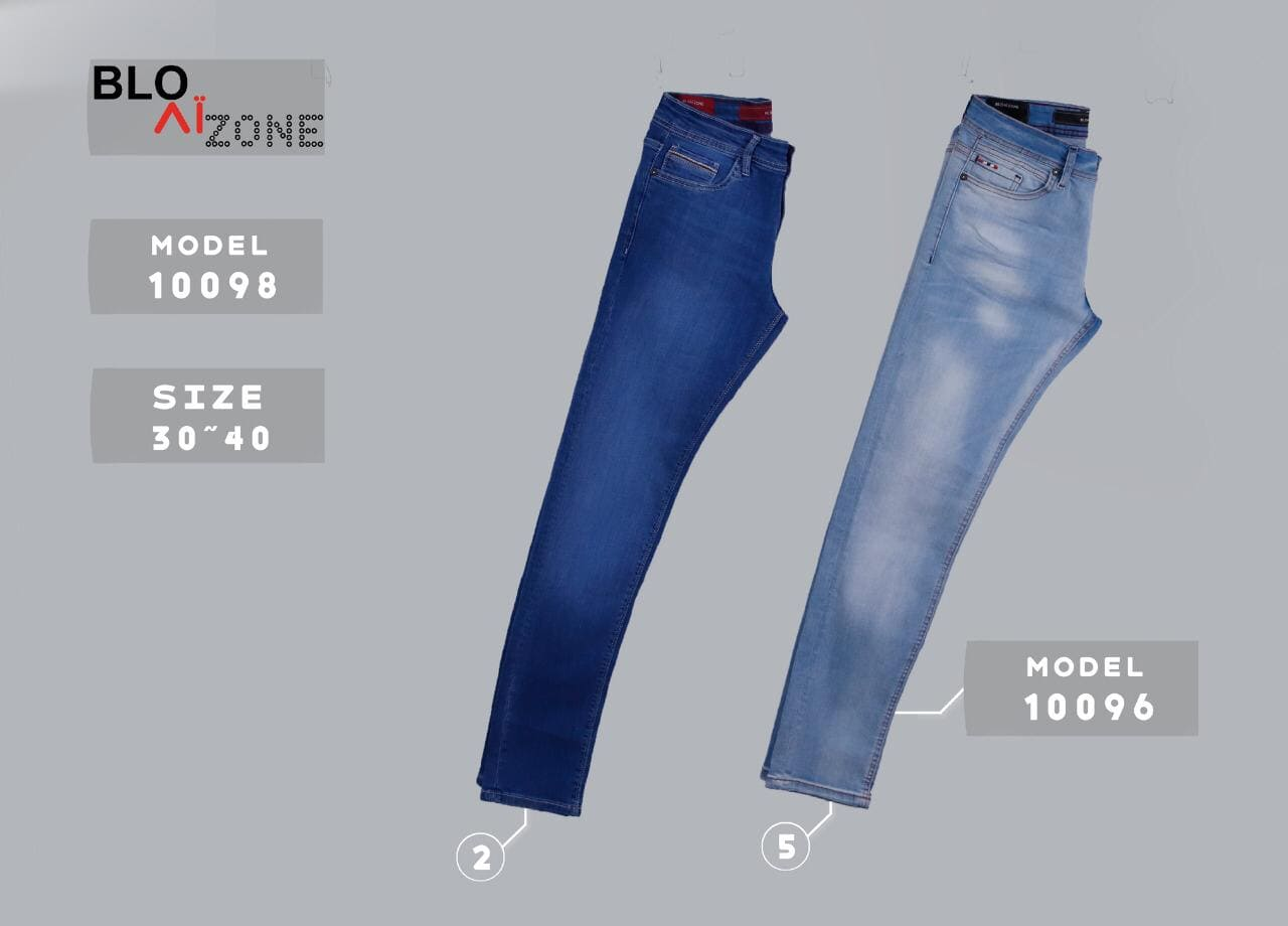 بنطون جينز شبابي كود 10098